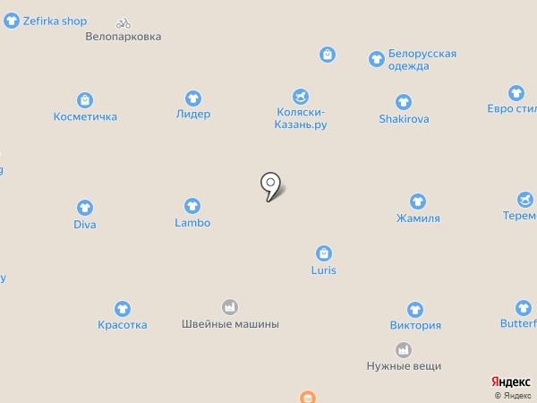 Сапфир на карте Казани