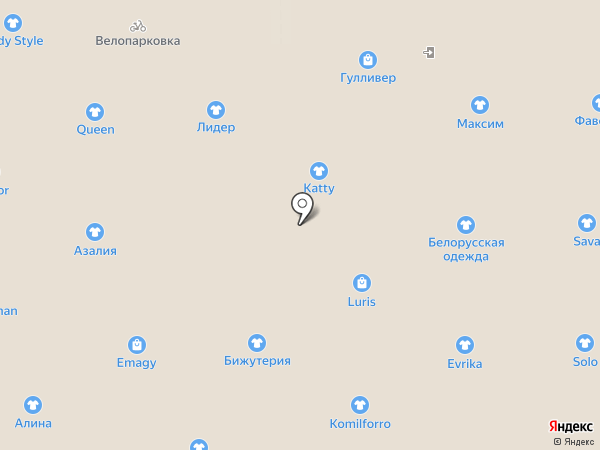 Antilopa на карте Казани