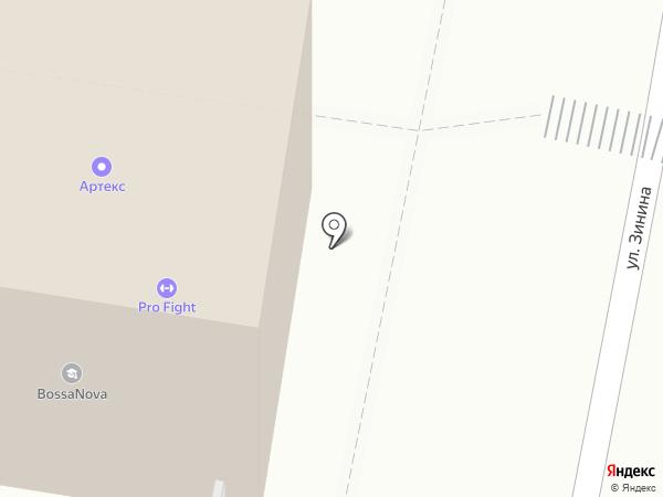 Едок на карте Казани