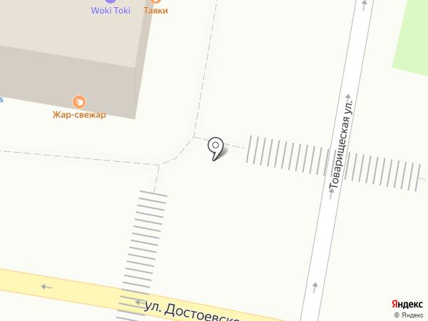 Цветочный микс на карте Казани
