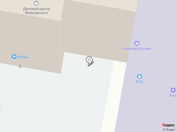 Комфорт на карте Казани