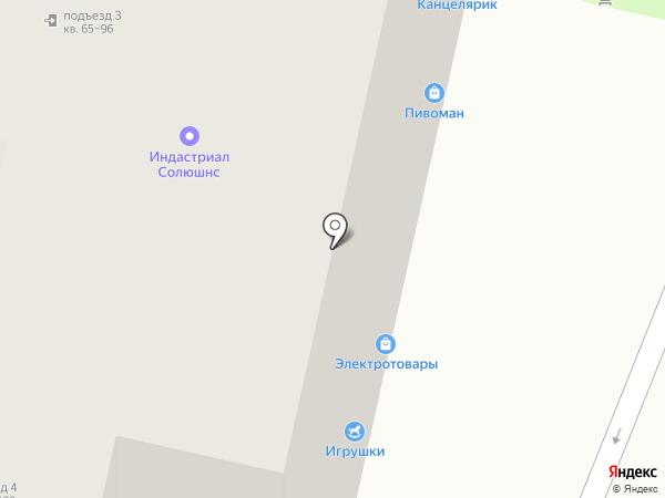 Пивоман на карте Казани