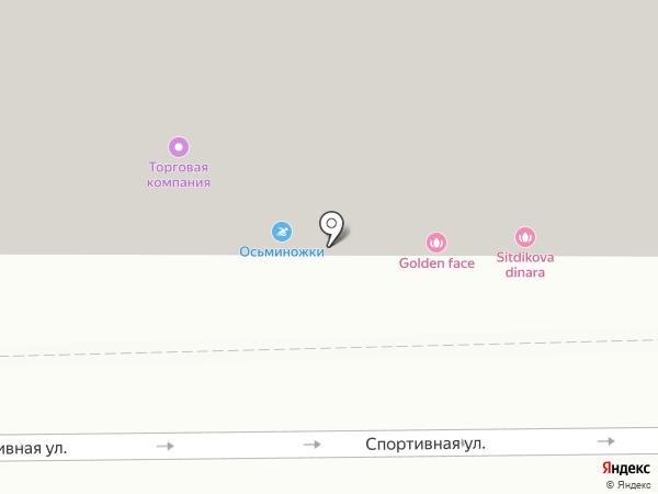 Салтанат и Зарина на карте Казани