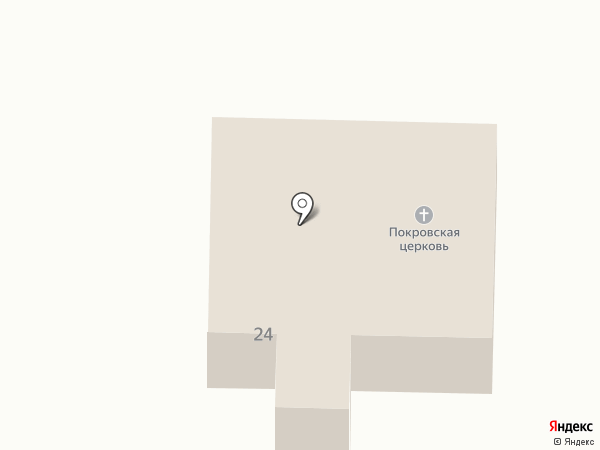 Храм в честь Покрова Пресвятой Богородицы на карте Переволок