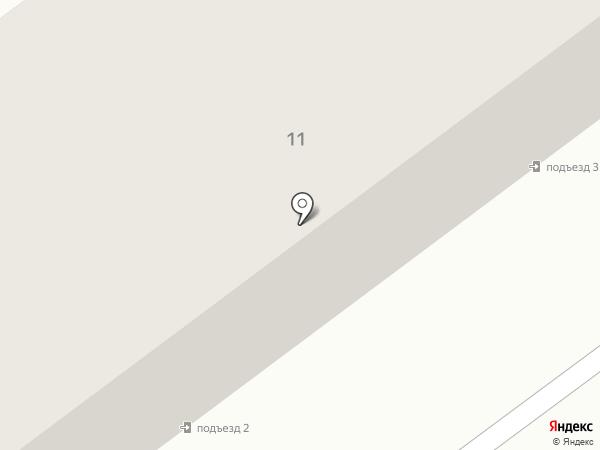 Солнечный на карте Подстепок