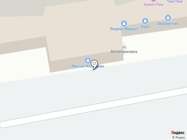 Магнит Косметик на карте Казани