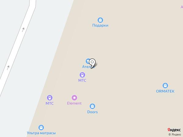СИЛК ПЛАСТЕР ТАТАРСТАН на карте Казани