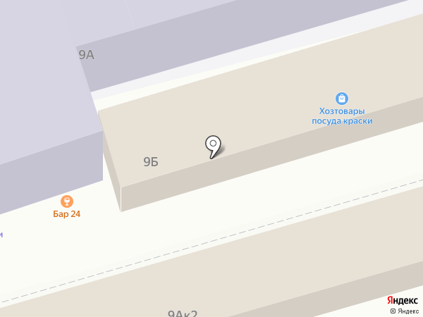 Сытый двор на карте Казани