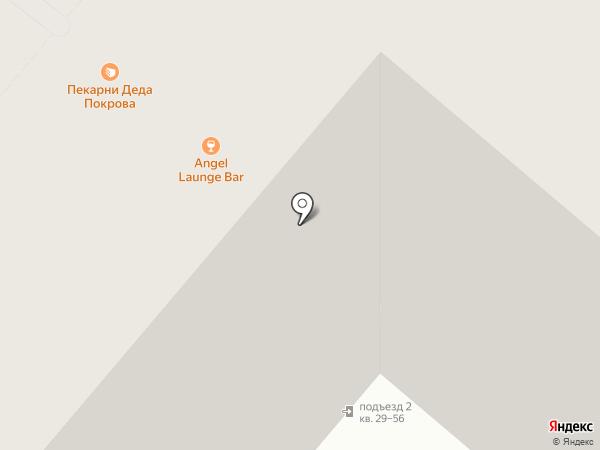 Телешко на карте Казани