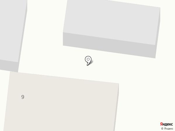 На Весенней на карте Подстепок