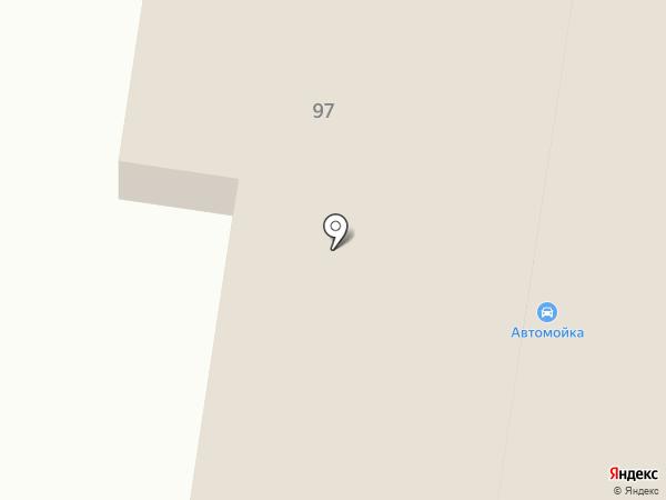 Автомойка на Дачной на карте Подстепок