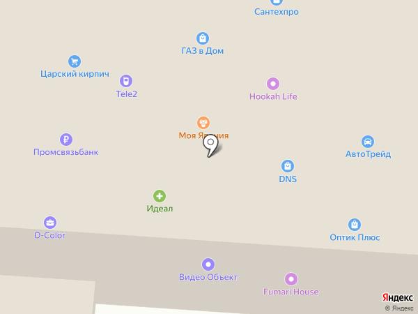 Ле`Муррр на карте Подстепок