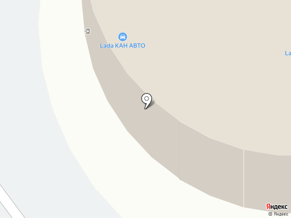 Chevrolet Niva на карте Казани