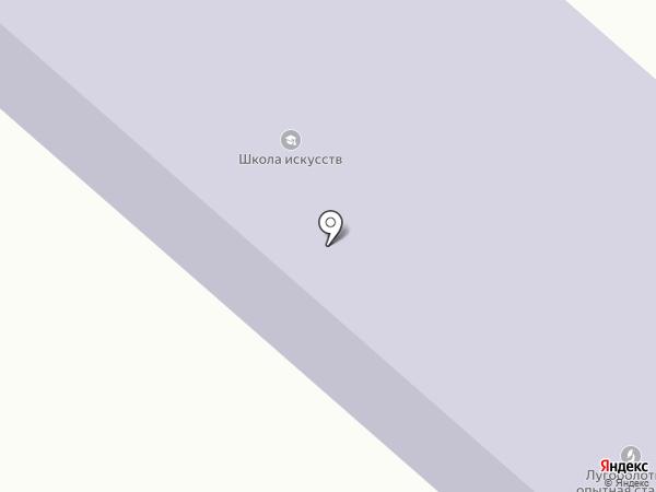 Лугоболотная школа искусств на карте Юбилейного