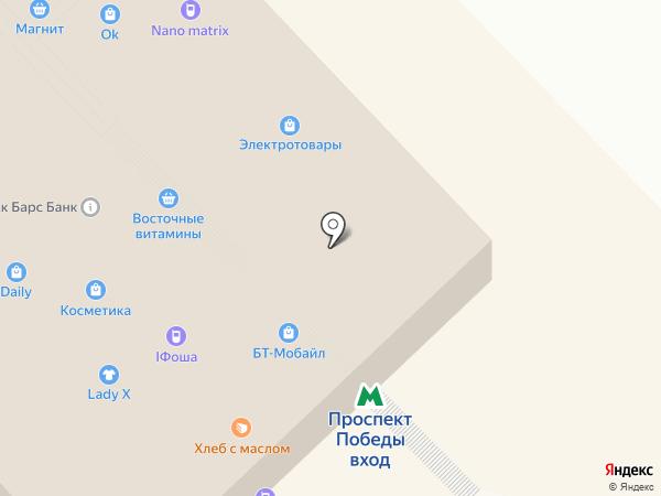 ЦЕНТР ПЛАТЕЖЕЙ на карте Казани