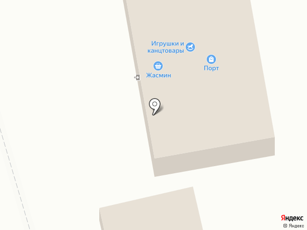 Жасмин на карте Столбища