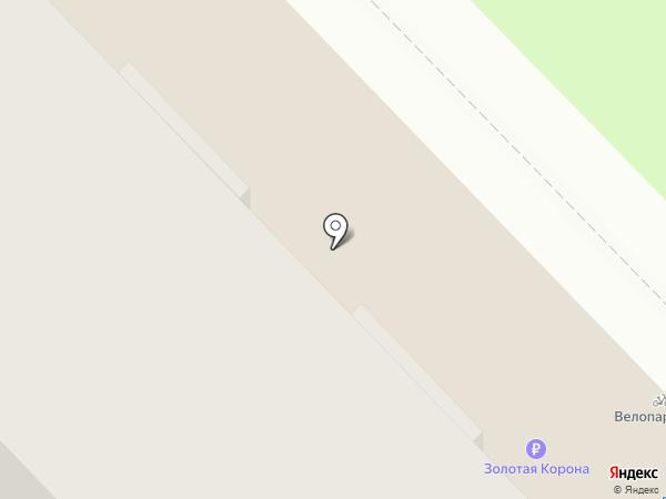 Примула на карте Казани