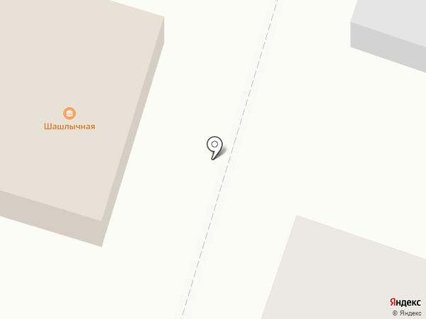 Утес на карте Столбища