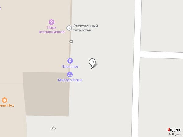 Додо Пицца на карте Казани
