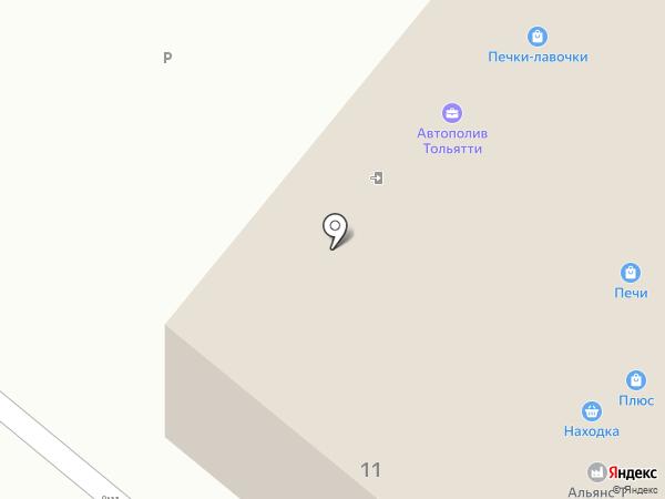 Торговая фирма на карте Приморского