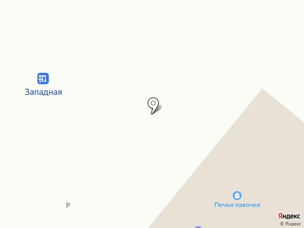 Родник здоровья на карте Приморского