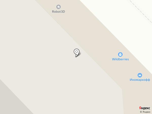 Завод силикатного кирпича на карте Казани