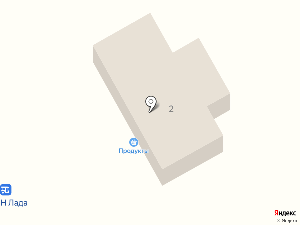 Магазин продуктов на Транспортном проезде на карте Подстепок