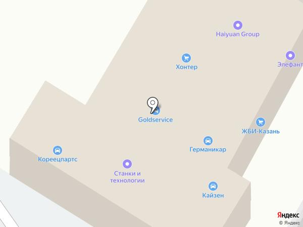 Страховой центр на карте Казани