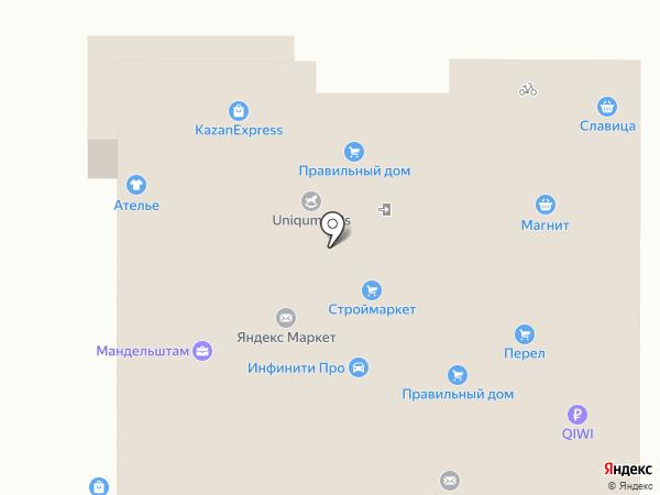 МАНДЕЛЬШТАМ на карте Казани