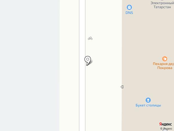 СафЭль на карте Казани
