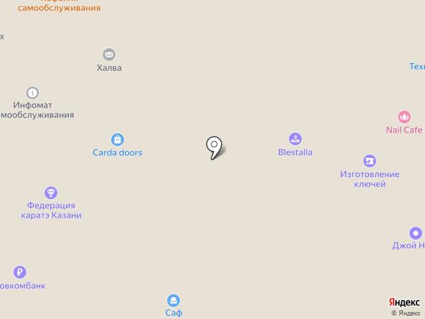АКВА ГРУПП на карте Казани