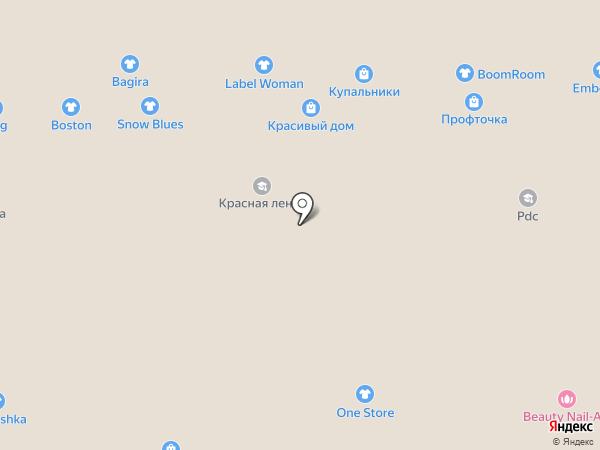 Самура на карте Казани