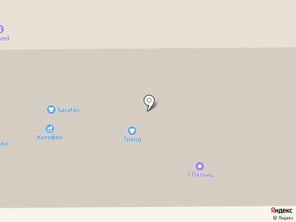 Солнце-Шуба на карте Казани
