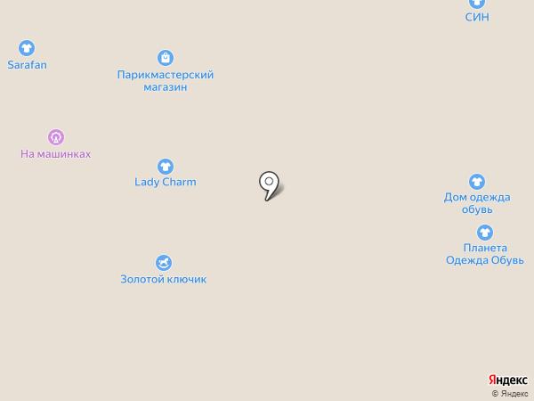 MISS FLORANGE на карте Казани