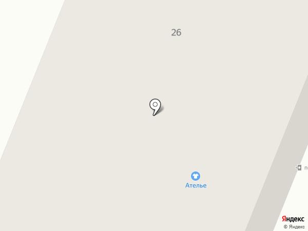 Адория на карте Приморского