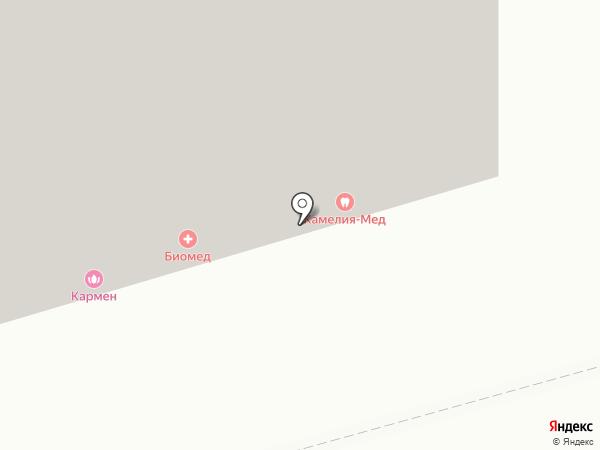 Камелия-Мед на карте Казани