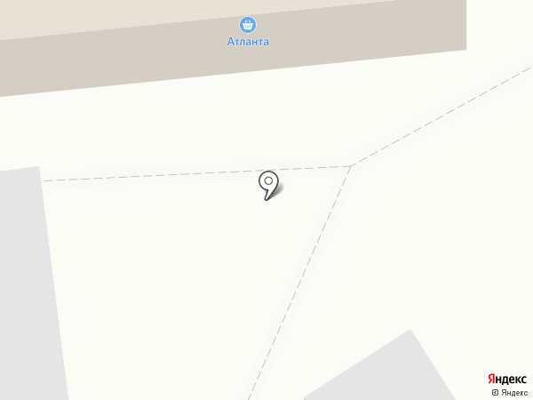 Атланта на карте Стрижей