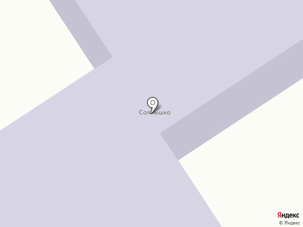 Солнышко на карте Стрижей
