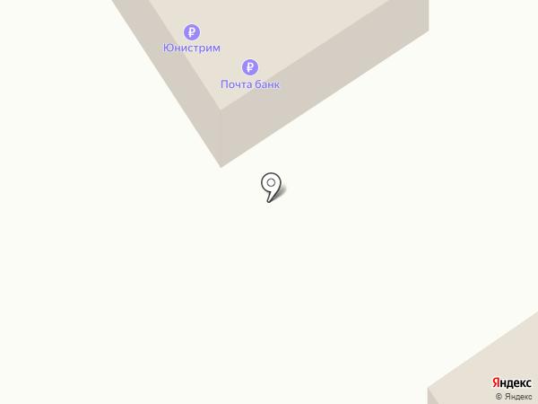 Отделение почтовой связи п.г.т. Стрижи на карте Стрижей