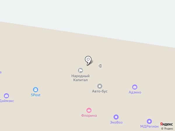 Мега Недвижимость на карте Тольятти