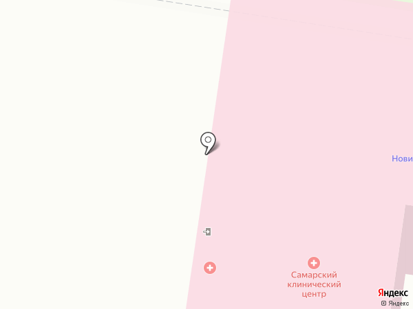 Самарский медицинский клинический центр на карте Тольятти