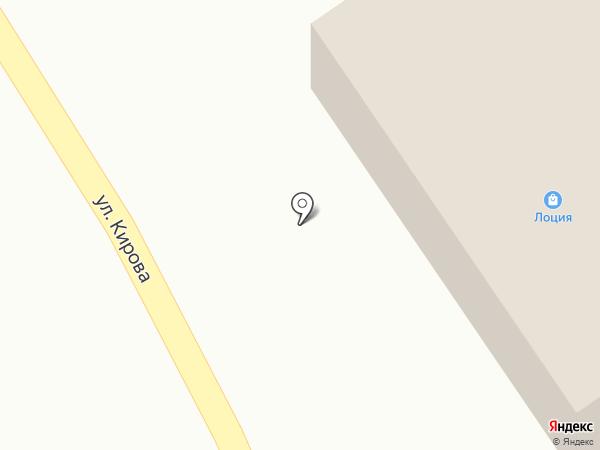 Лоция на карте Стрижей