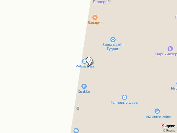 Мишель на карте Тольятти