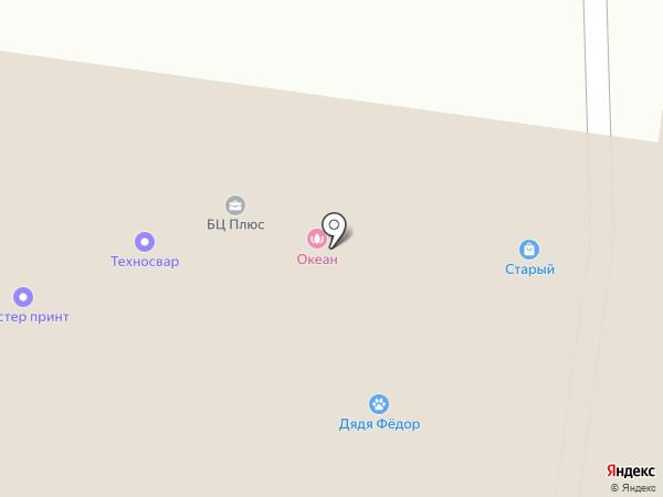 Бухсервис на карте Тольятти