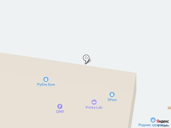 Церковная лавка на карте Тольятти