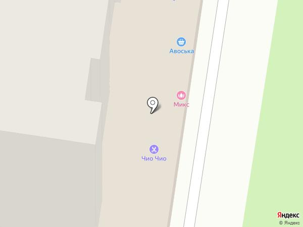 ГОСТ на карте Тольятти