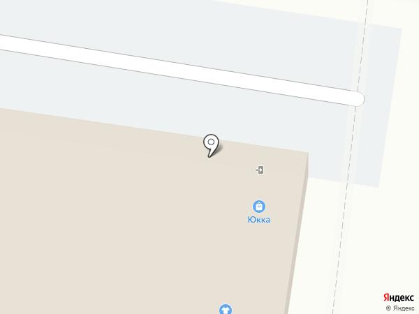 Юкка на карте Тольятти