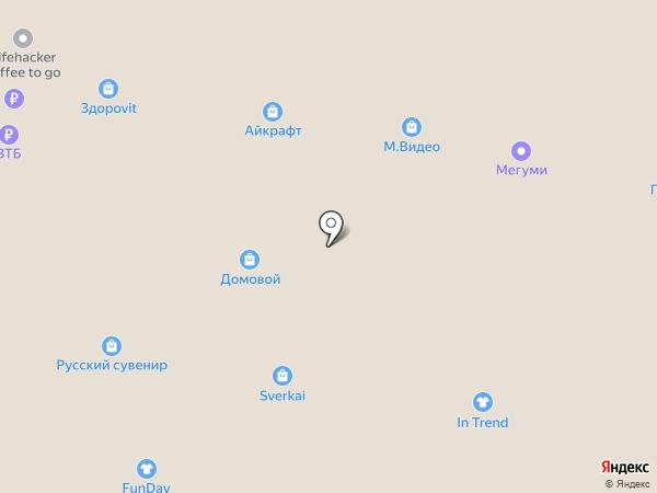 МИО на карте Тольятти