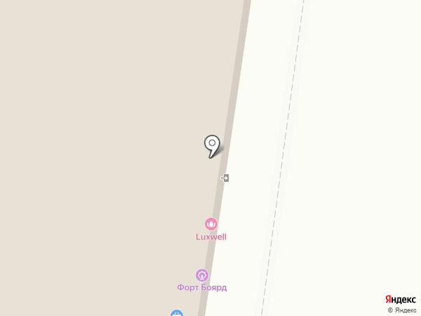 Милано на карте Тольятти