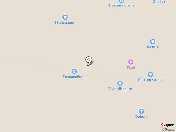 Монро на карте Тольятти